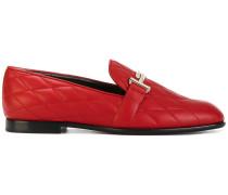 Loafer mit Doppel-T