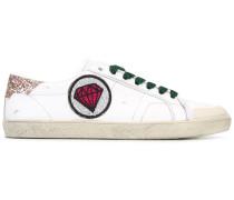 Sneakers mit Diamanten-Patch