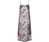 spaghetti strap floral print dress