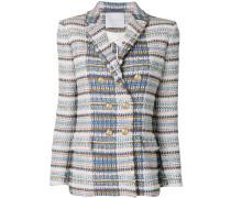 Tweed-Blazer mit langen Ärmeln