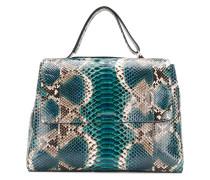 'Sveva' Handtasche aus Pythonleder
