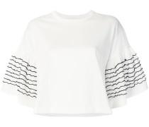 T-Shirt mit Rüschen-Ärmeln