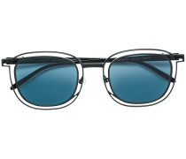 Vigilanty double frame round sunglasses