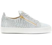 'Gail' Sneakers mit Python-Print
