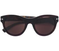 Große Sonnenbrille in Schildpattoptik