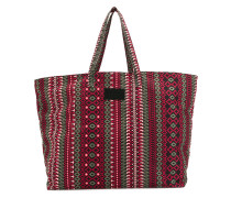 etno print large shopper tote
