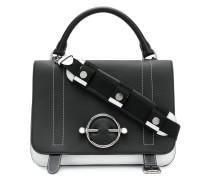Zweifarbige Satteltasche