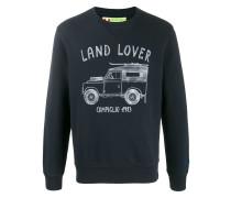 """Sweatshirt mit """"Land Lover""""-Print"""