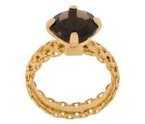 'A Wild Original!' Ring mit Quarz