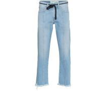 x Browns Jeans mit diagonalem Streifen