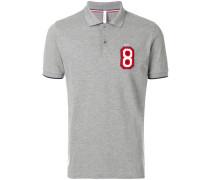 "Poloshirt mit ""8""-Patch"