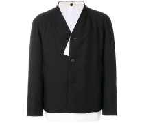 loose fit buttoned jacket