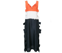 colour block midi dress