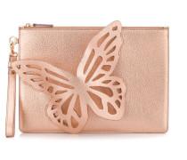 Metallic-Clutch mit Schmetterling