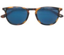 tortoiseshell blue tinted sunglasses