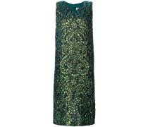 Kleid mit Eidechsen-Print