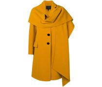 Mantel mit fallendem Revers
