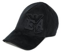 Kord-Baseballkappe mit Logo