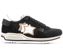 Sneakers mit Stern-Patches