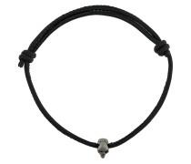 Swarovski crystal skull bead bracelet