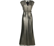 Abendkleid im Metallic-Look