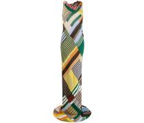 Drapiertes Kleid mit Streifen