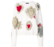 'Sacred Heart' Strickpullover