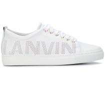 Sneakers mit Logo-Prägung