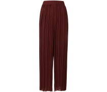 P.A.R.O.S.H. pleated wide-leg trousers