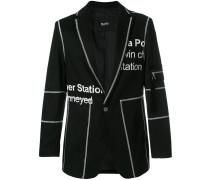 Penton printed blazer