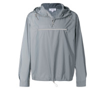 Newill metallic hooded jacket