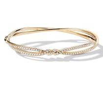 18kt 'Constinuance' Gelbgoldarmreif mit Diamanten