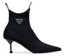 black pointed 65 neoprene sock boots