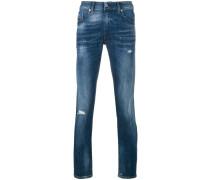 Jeans in Distressed-Optik