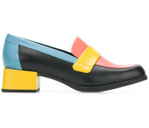 colour block pumps