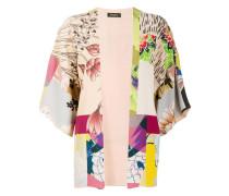 floral print cape