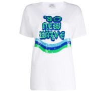 P.A.R.O.S.H. T-Shirt mit grafischem Print