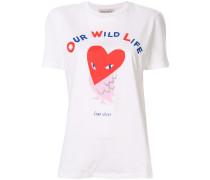 T-Shirt mit 'Eulen-Print