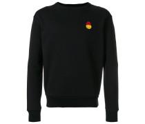 Sweatshirt mit Smiley-Patch