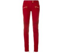 Jeans in Biker-Optik