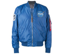 Bomberjacke mit Nasa-Patch