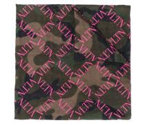 Schal mit VLTN-Print