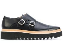 Monk-Schuhe mit Plateausohle