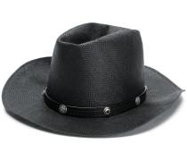 embellished panama hat