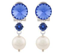 Ohrclips mit Perlen