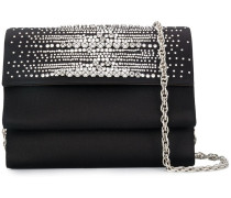 crystal embellished clutch bag