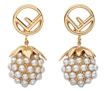 embellished fruit earrings