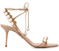 'Mae' Sandalen mit Perlen