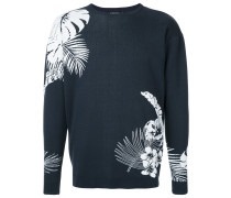 tropical intarsia jumper