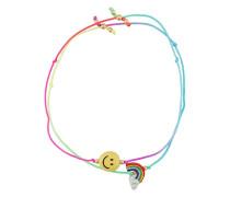 'Rainbow smile' bracelet set